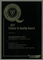 2011 Partner in Quality Award