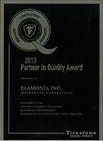 2013 Partner in Quality Award